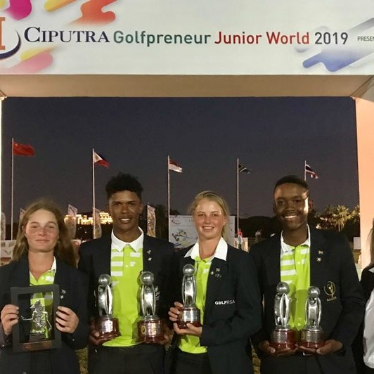 GolfRSA juniors do SA proud in Indonesia