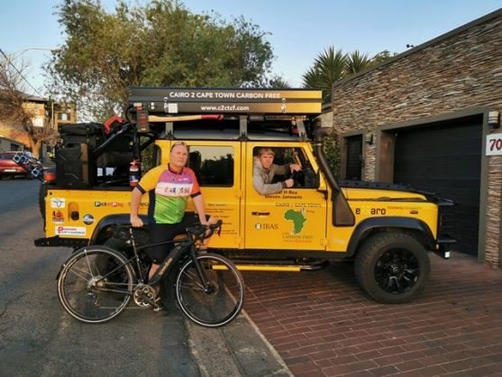 Michael Rea – Cairo to Cape philanthropic cyclist