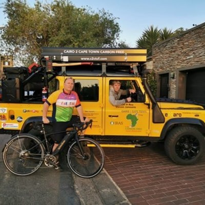 Michael Rea – Cairo to Cape philanthropic cyclist