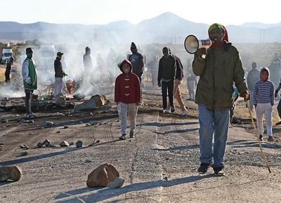 Vrygronde informal settlement protest