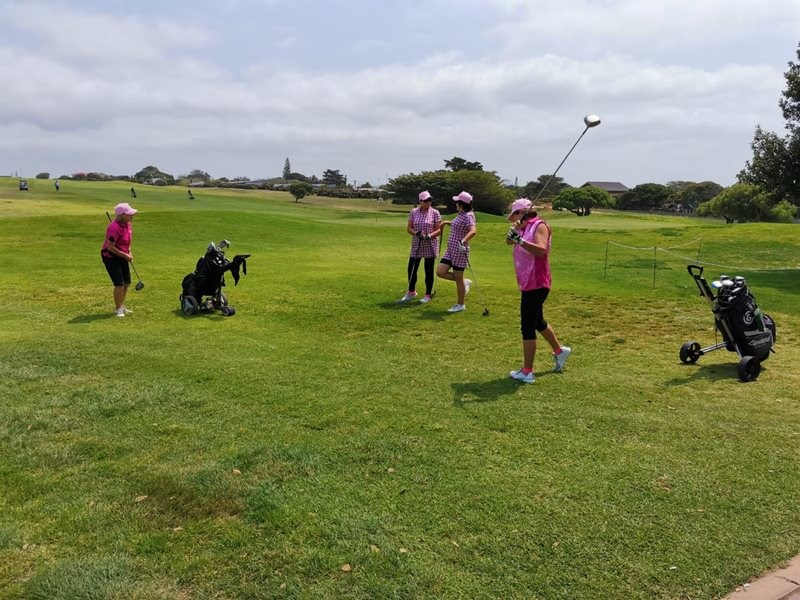 Afrishore Golf Day in aid of Pink Trees for Pauline