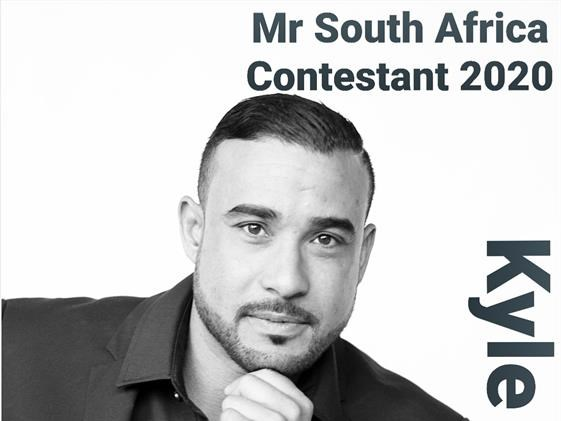 Kyle has his eye is on Mr SA title