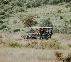 Hiking, hunting, game drives allowed