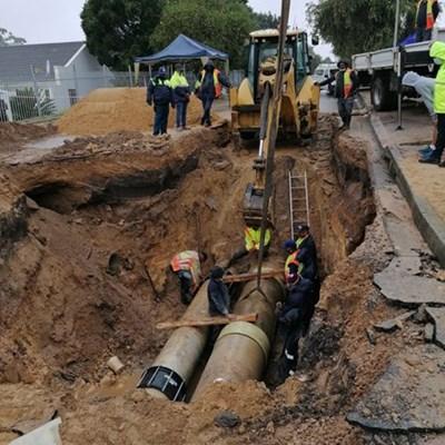 Update on water repairs: Genevafontein