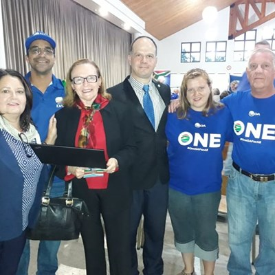 Zille speaks before by-election in Ward 18