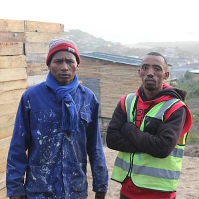 Settlers rebuilding after Red Ants intervention
