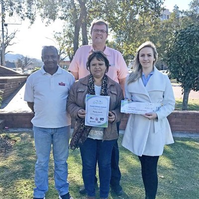 Safe haven gets good citizen award