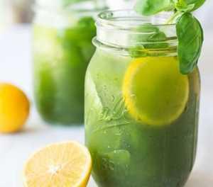 Recipe: Basil lemonade