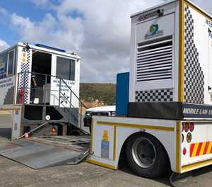 Mobile roadworthy centre operational