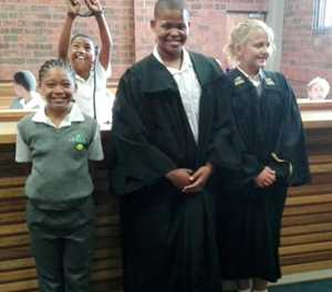 Learners get to walk on the legal side