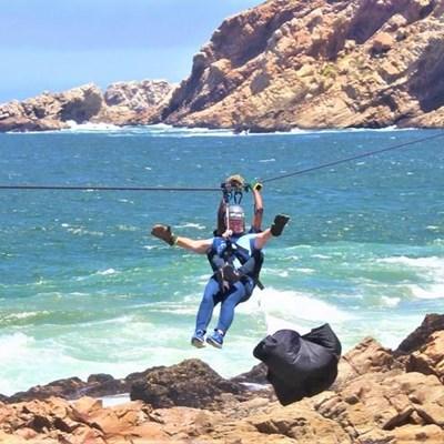 Mossel Bay boasts longest over-sea zipline