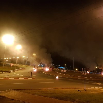 Update: Protest action on N2