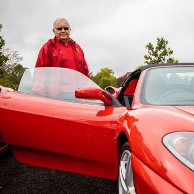 Ferraris draw attention in George