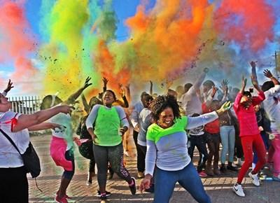 Fun colour walk