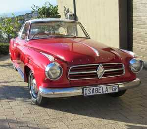 Heritage Tour pays tribute to Borgward