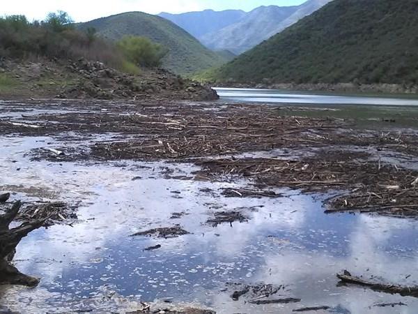 Skoonmaakproses begin by dam