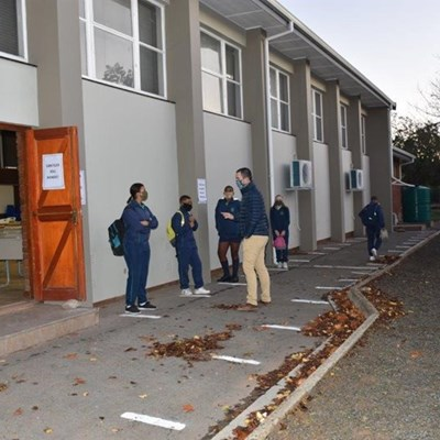 Oudtshoorn-skole slaggereed