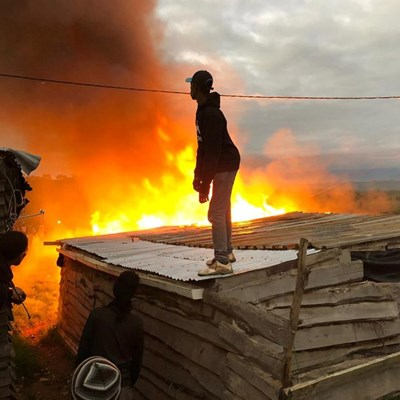 Domestic dispute might have caused Plett fire