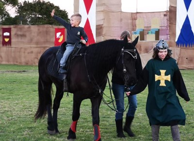 Medieval Stunt Show