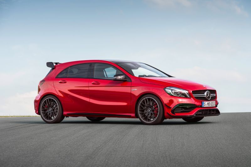 Next-gen Mercedes-AMG A45 could crack 400 hp | George Herald