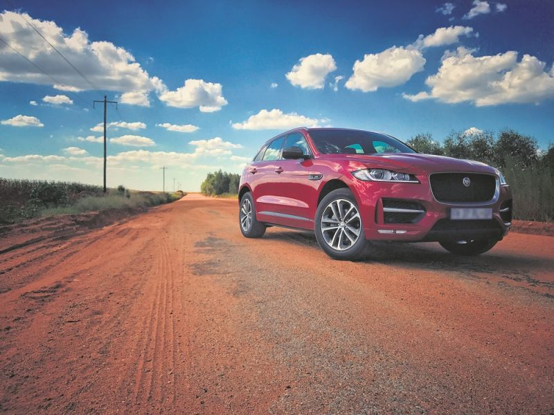 Jaguar's F-Pace pretty and relevant   George Herald