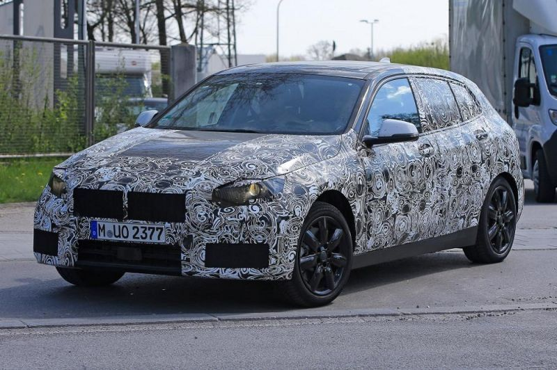 Next Generation Bmw 1 Series Spied Will Be Fwd And Lose