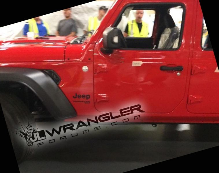 New Jeep Wrangler pictured on factory floor | George Herald