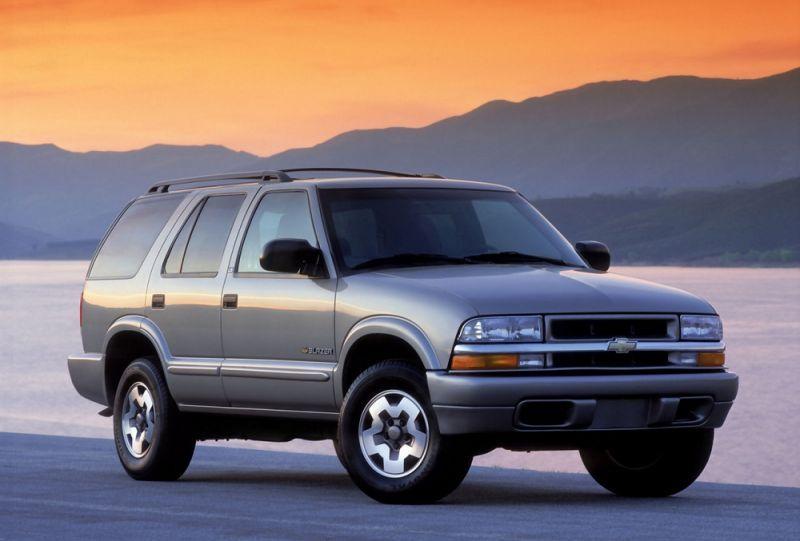 Chevrolet Blazer Set To Return Next Year As Re Skinned Gmc
