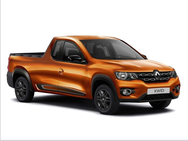 Would A Half-ton Renault Pick-up Look Like This?