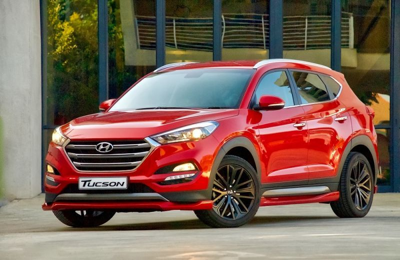 Tuned Hyundai Tucson In The Works George Herald