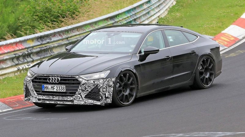 Audi Rs7 Spied Lapping The Ring George Herald