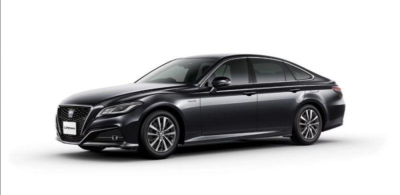New Tech Heads Fifteenth Generation Toyota Crown George Herald
