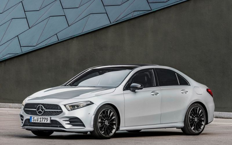 Mercedes-Benz A-class sprouts a boot, more AMG details