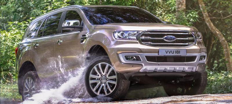 South Africa bound facelifted Ford Everest priced Down Under