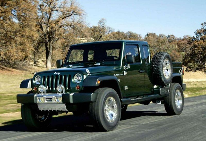 Pick Up Jeep Wrangler Set To Drop Scrambler For Gladiator George
