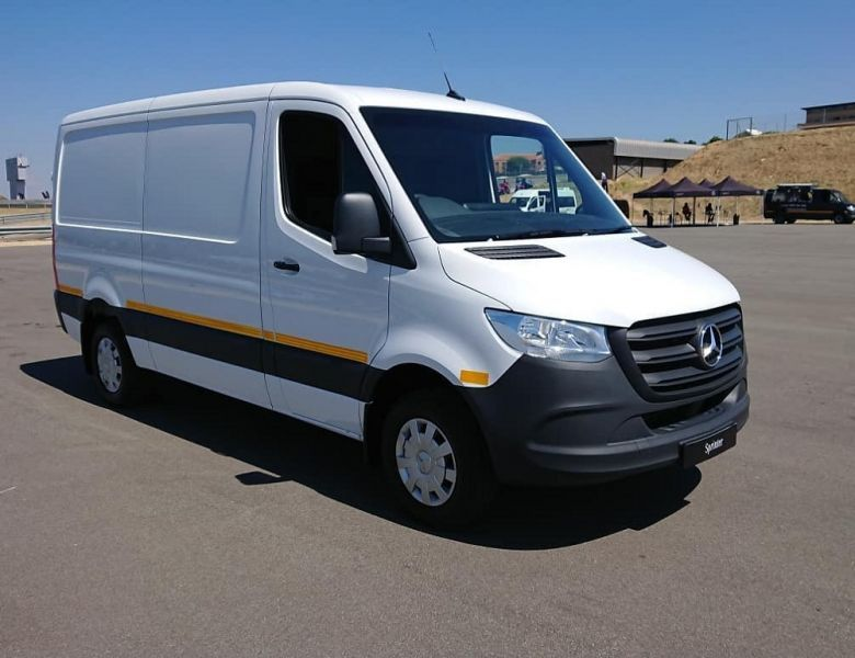 All-new Mercedes-Benz Sprinter reports for work | George Herald