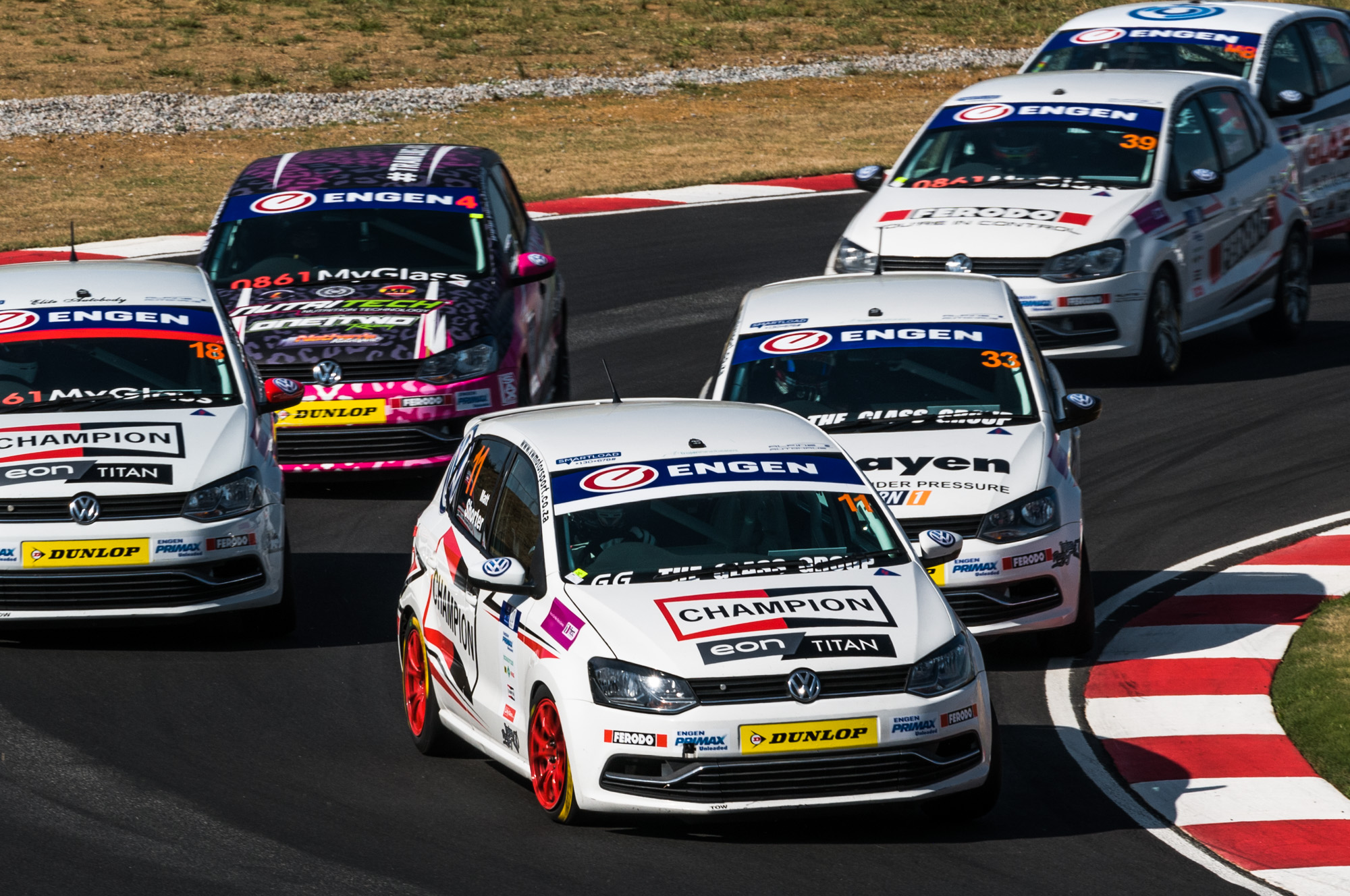 Engen Volkswagen Cup championship delivers exciting race at Kyalami-Autodealer