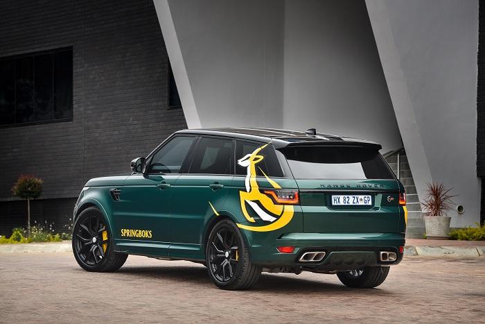 Land Rover unveils special tribute Range Rover to the Springboks-Autodealer