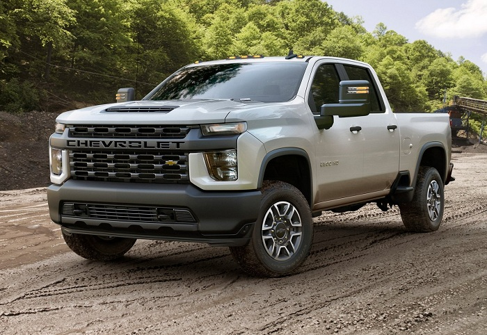 Monstrous Chevrolet Silverado HD unearthed before Chicago-Autodealer