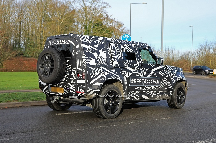 Next Land Rover Defender re-appears in 90 and 110 bodystyles-Autodealer