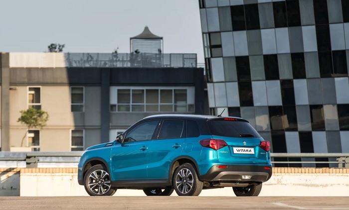 Revised Suzuki Vitara gets stickered-Autodealer
