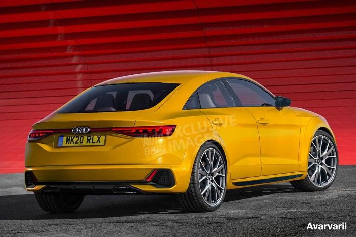 Next Audi TT will become a four-door coupe-Autodealer
