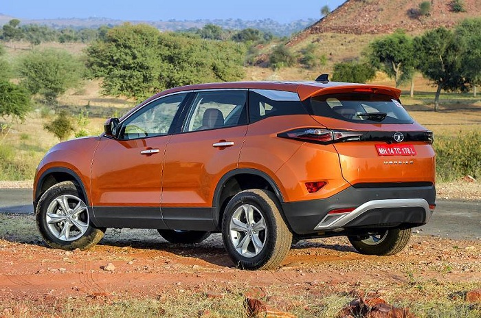 Land Rover underpinned Tata Harrier premiers ahead of January launch-Autodealer
