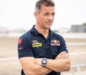 Loeb wins Dakar stage, Al-Attiyah close to overall victory