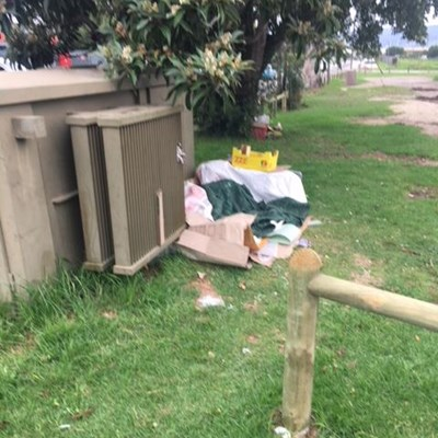 Vagrants driving residents crazy