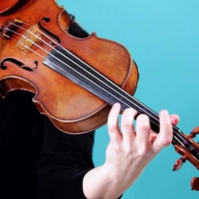 Acclaimed violin duo in George