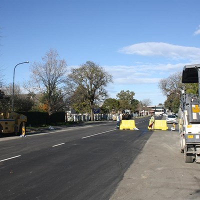 Caledon Road completion in sight