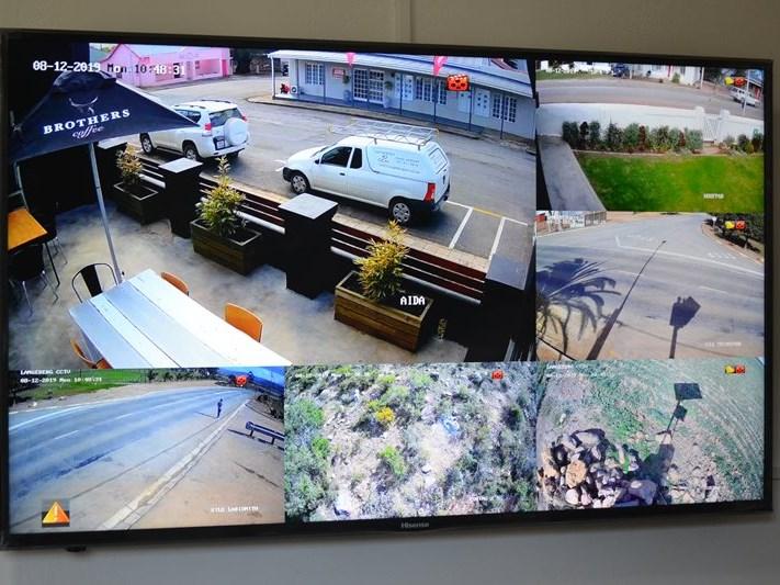 So werk 'Big Brother' se kameras