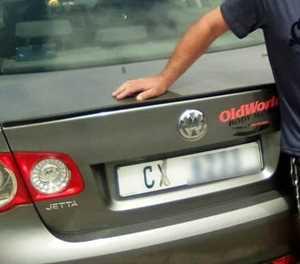 Stolen CX car found in CBF