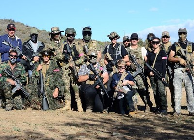 Airsoft battle makes local history